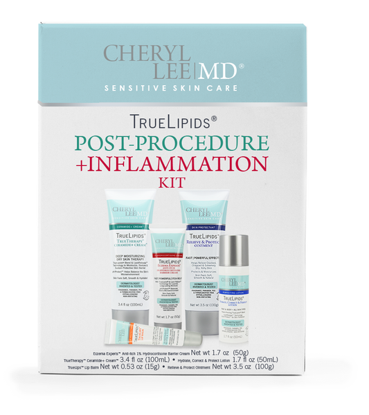 Post Procedure + Inflammation Kit - Cheryl Lee MD Sensitive Skin Care