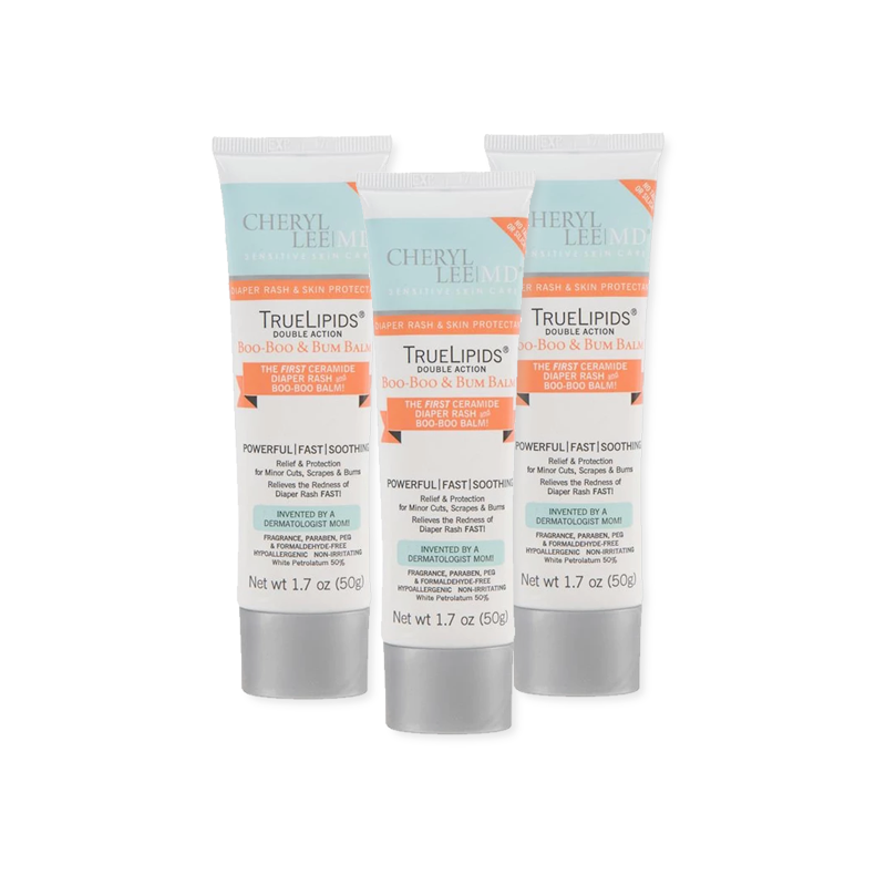 Family 3 Pack - Double Action Boo-Boo & Bum Balm