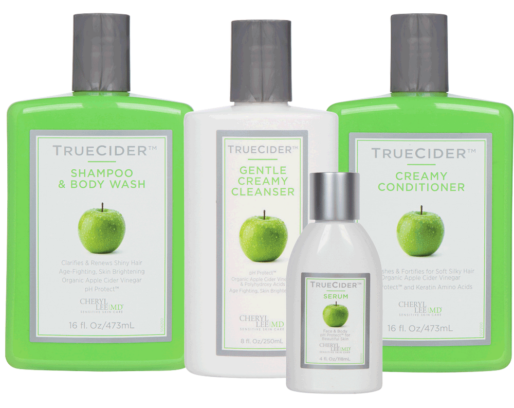 TrueCider Gentle Cleansing + Serum Kit