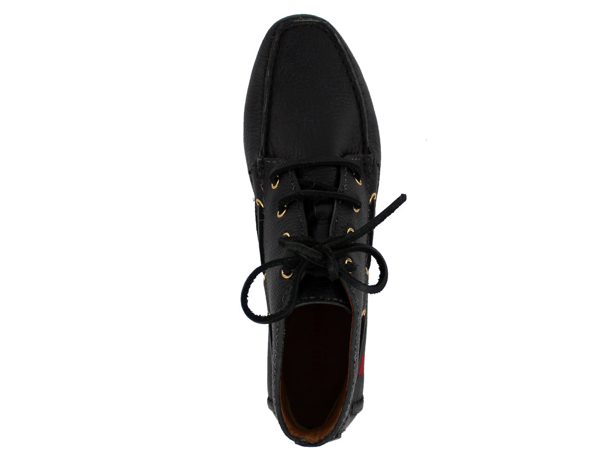 Broadway Driver Bootie - Black Grainy