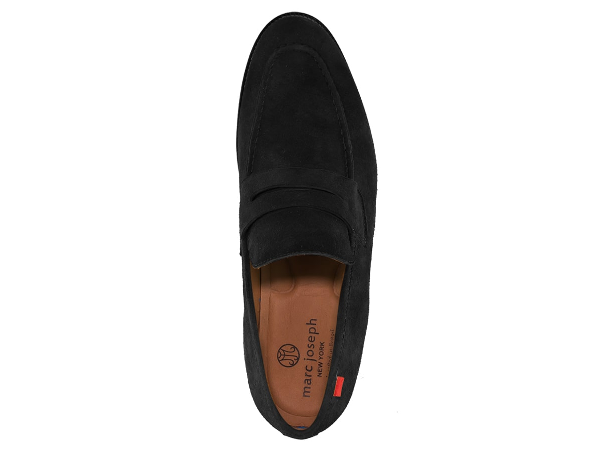 Charlton St - Black Kid Suede