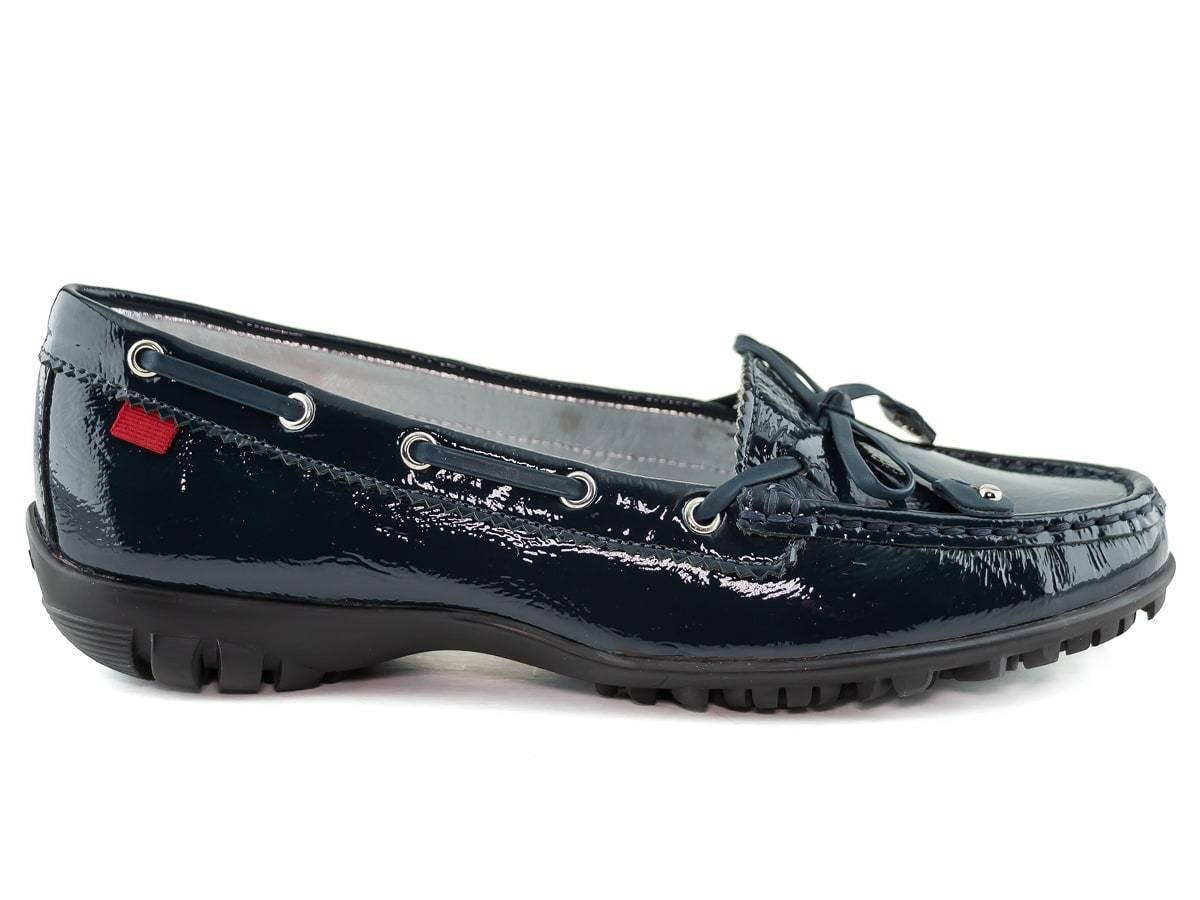 Cypress Golf - Navy Tumbled Patent