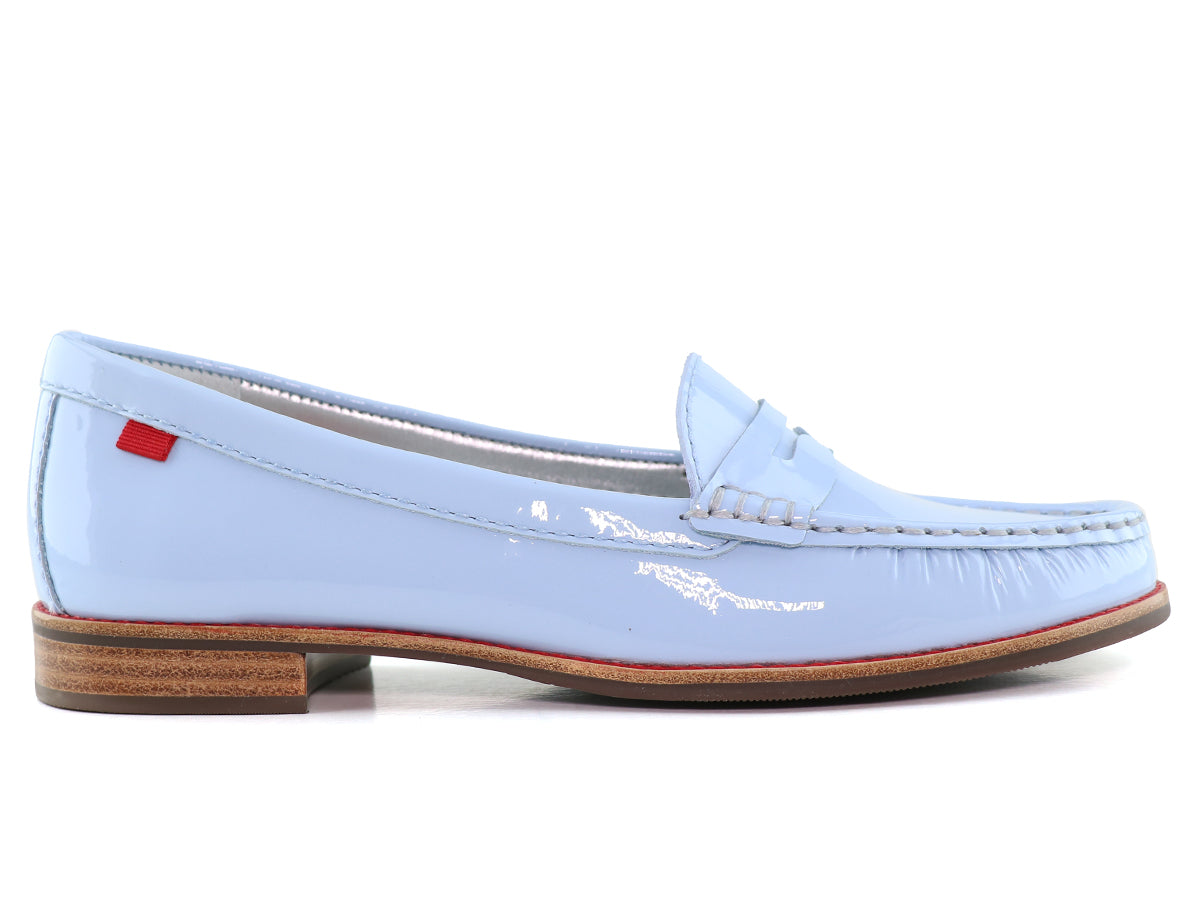 East Village - Baby Blue Soft Patent