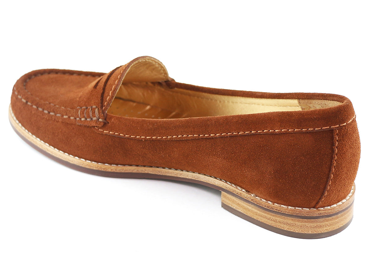 East Village - Cognac Suede