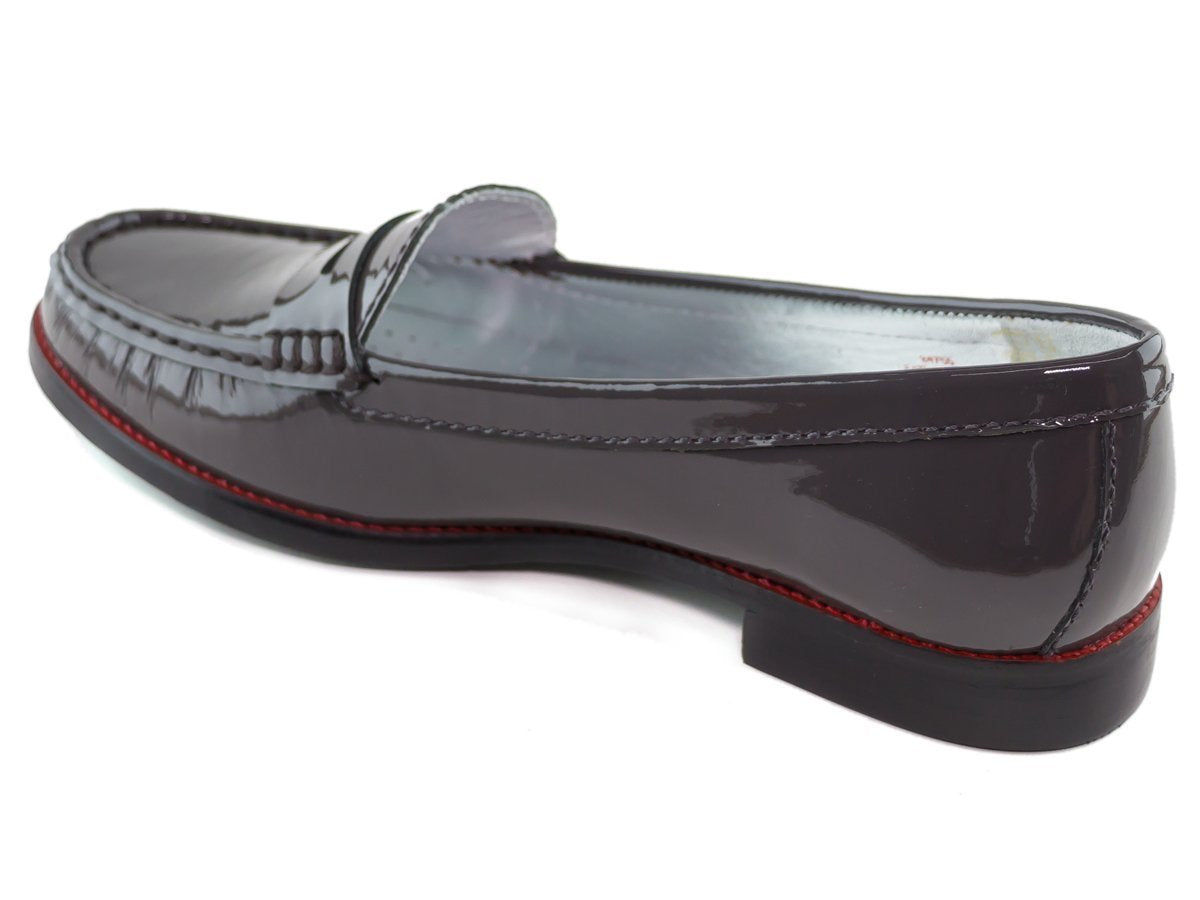 East Village - Grey Patent