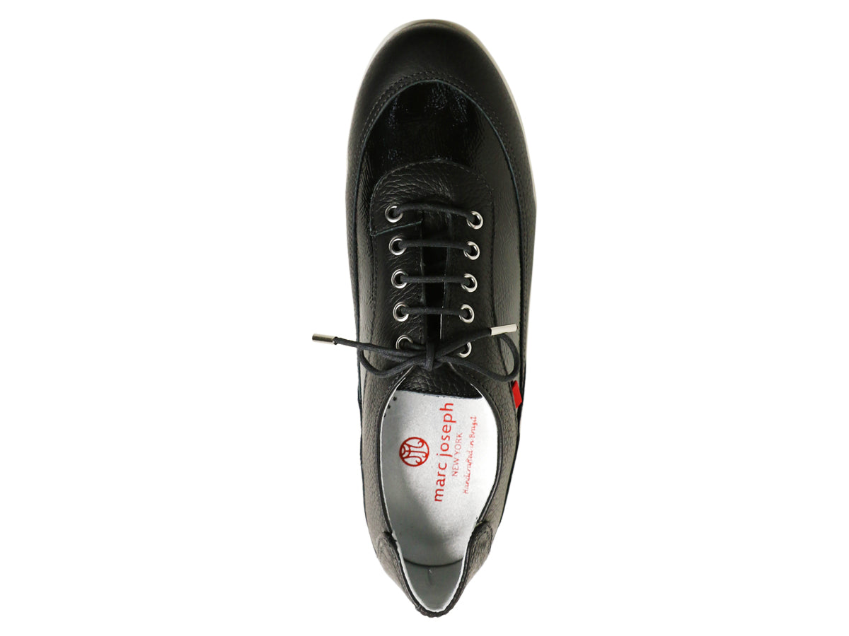 Hampton Golf - Black Tumbled & Patent