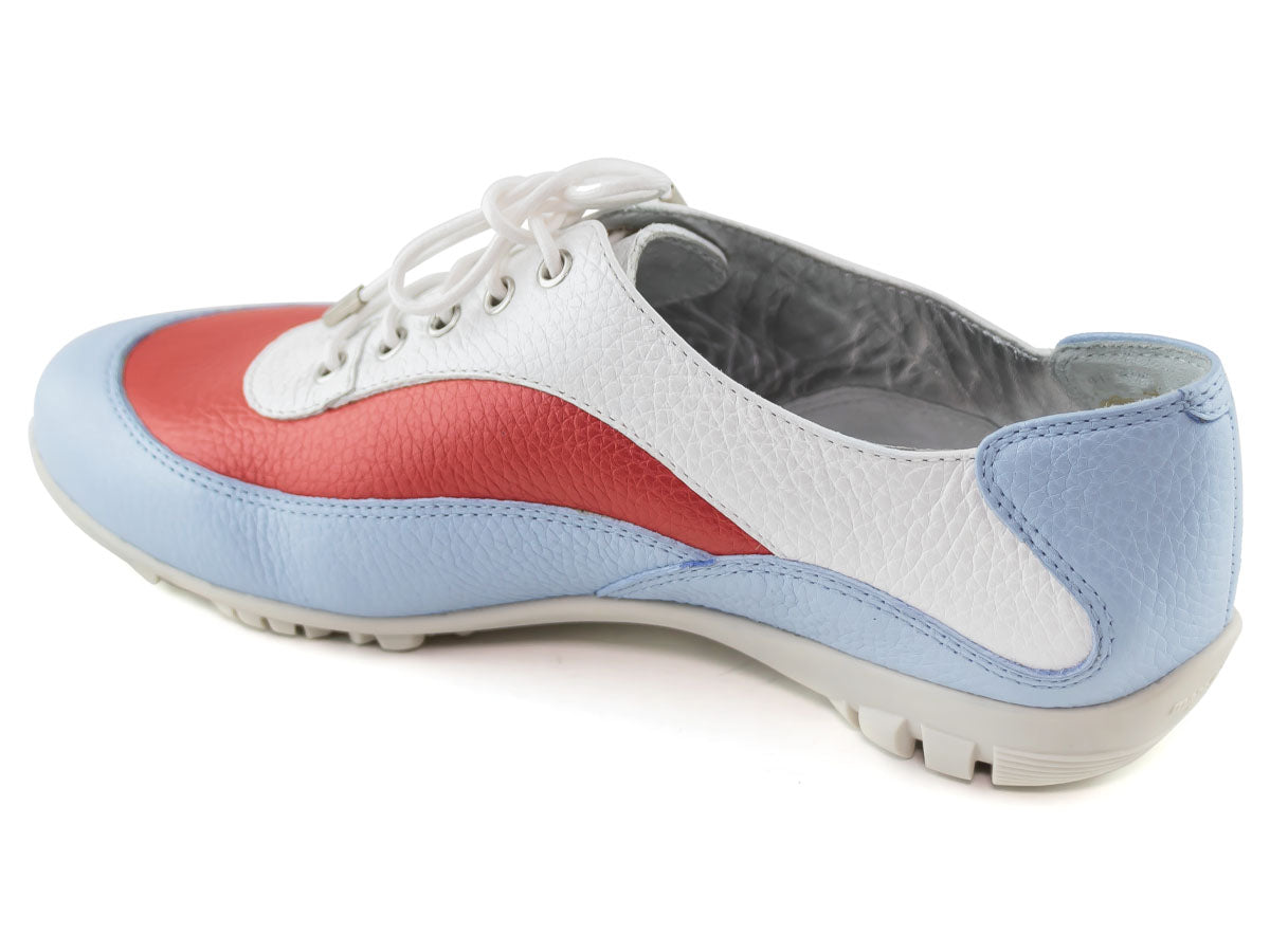 Hampton Golf - Baby Blue & Red Tumbled