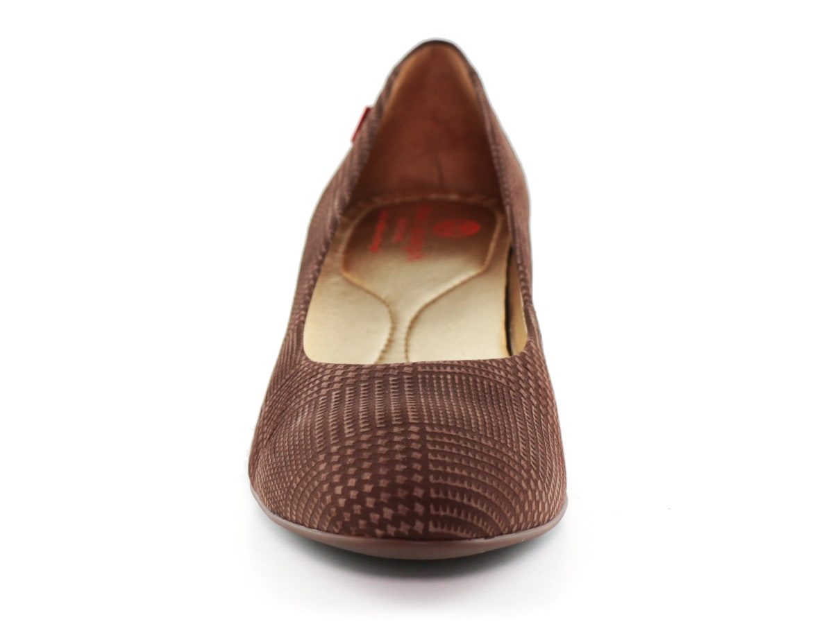 Prospect Wedge - Mocha Plaid Nobuck