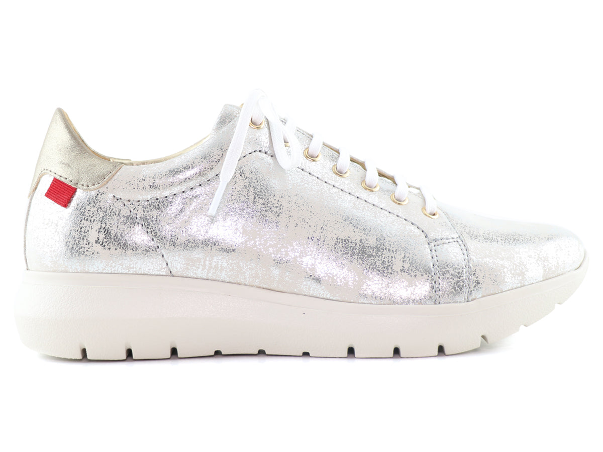 Spring Rd Sneaker - Silver Washed