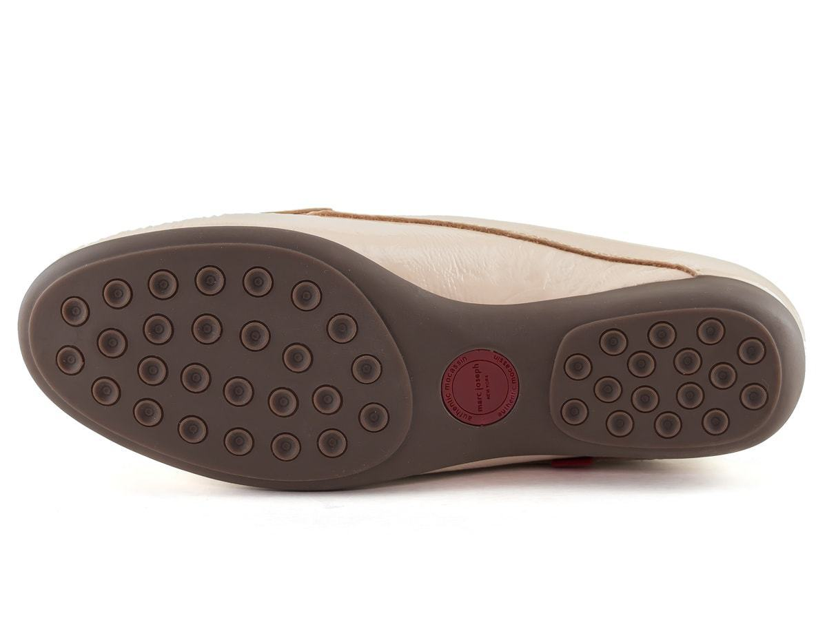 Union Mule - Nude Tumbled Patent