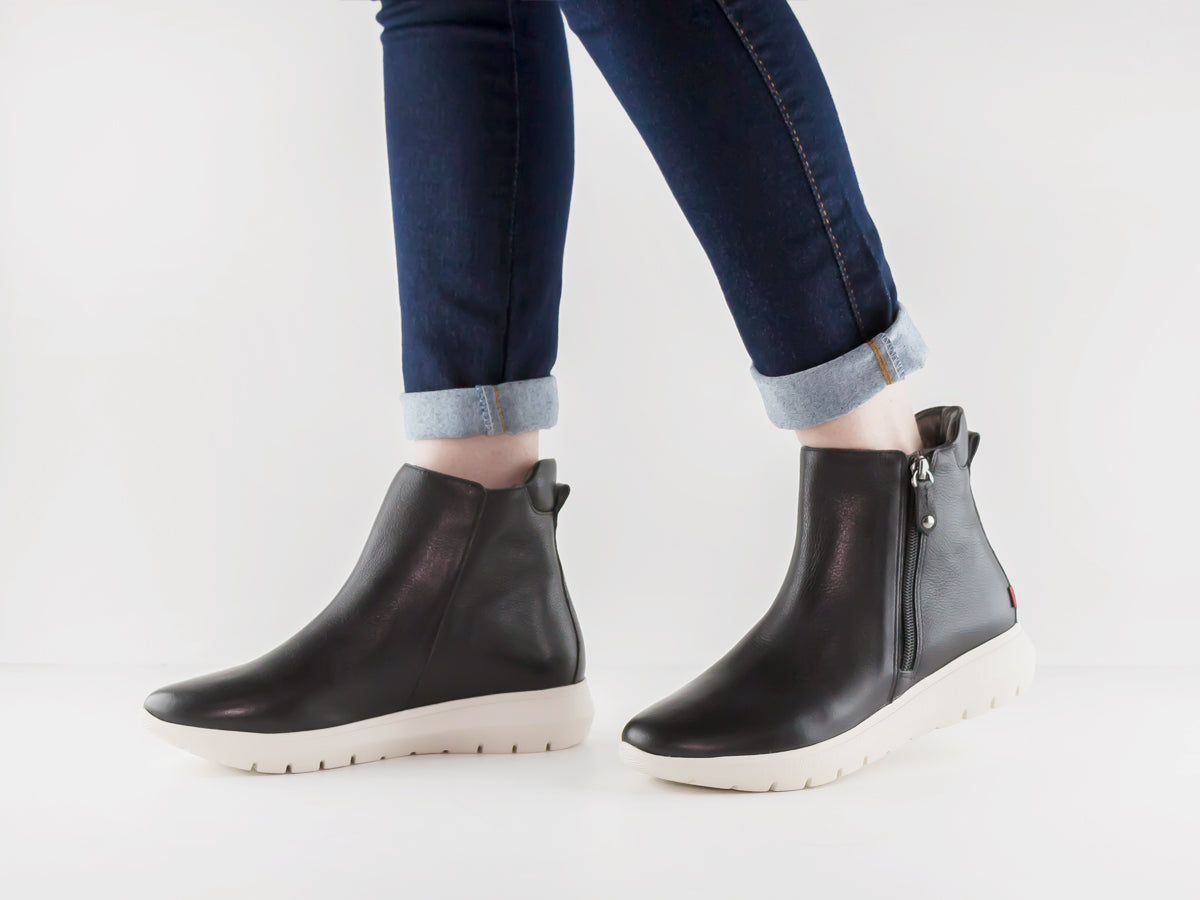 Worthington Bootie - Black Mini Grainy