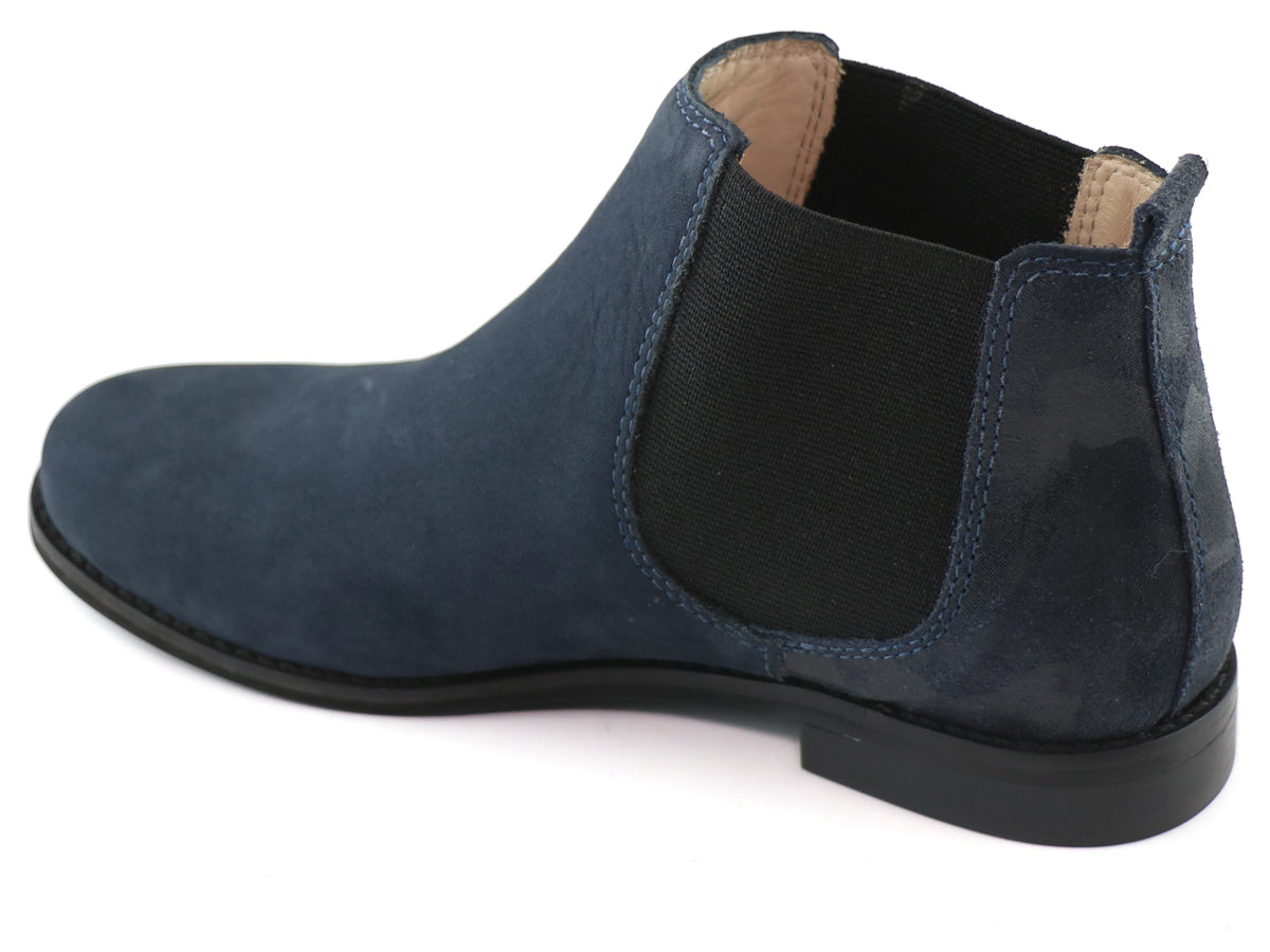 Webster Bootie - Navy Nobuck