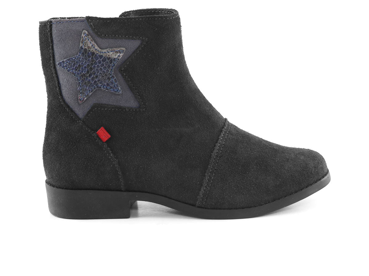 West Village Boot Kids - Black Suede