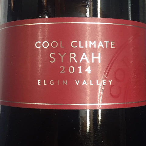 Corder - Syrah - Cool Climate - 2014