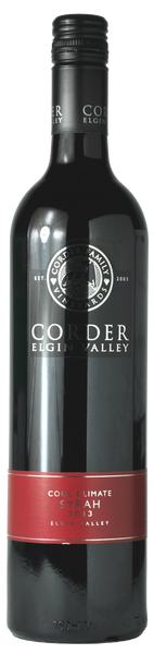 Corder - Syrah - Cool Climate 2013