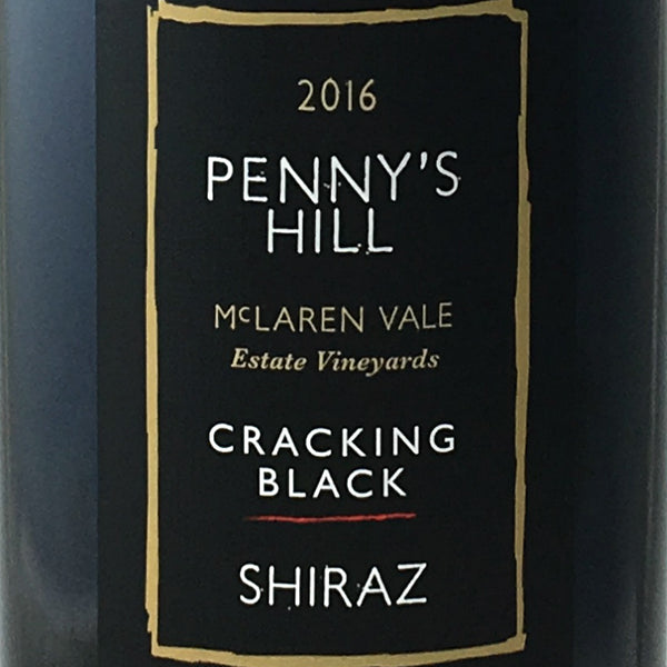 Penny's Hill - Cracking Black Shiraz 2016
