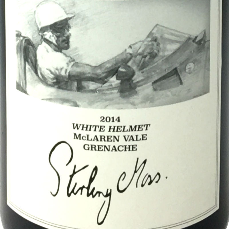 Stirling Moss - White Helmet - Grenache 2014