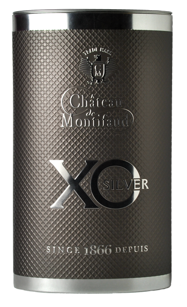 Chateau de Montifaud XO Silver Cognac - Bell Shaped Bottle
