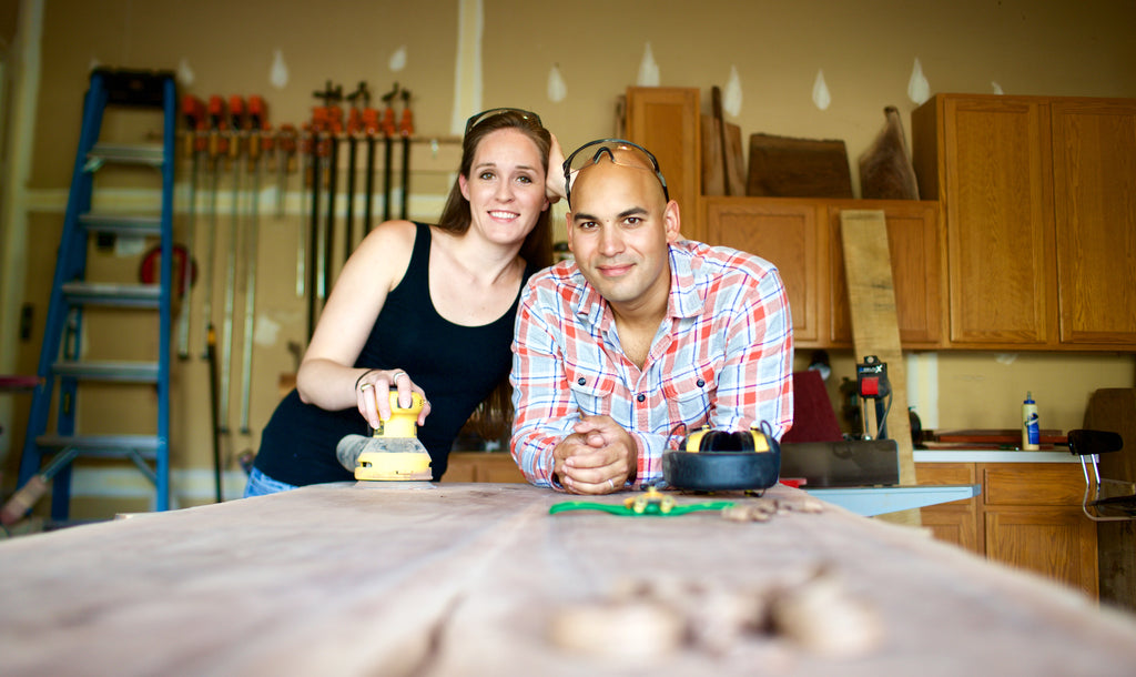 Meet AA & Beek - Wood Furniture and decor with a story