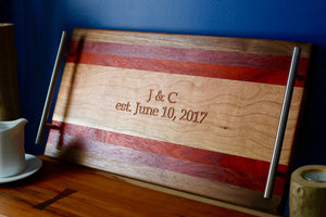 Ambrosia maple serving tray
