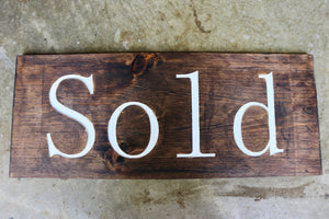 Custom Realtor Sign