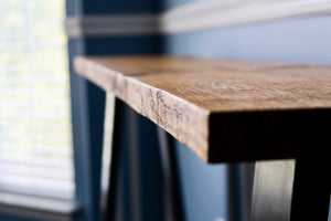 Rustic Oak Hall Table