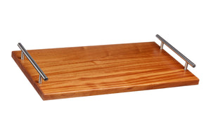 Sapele serving tray