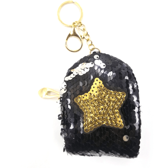 Star Sequin Coin Bag - Pack of 12:Mila Lifestyle Accessories