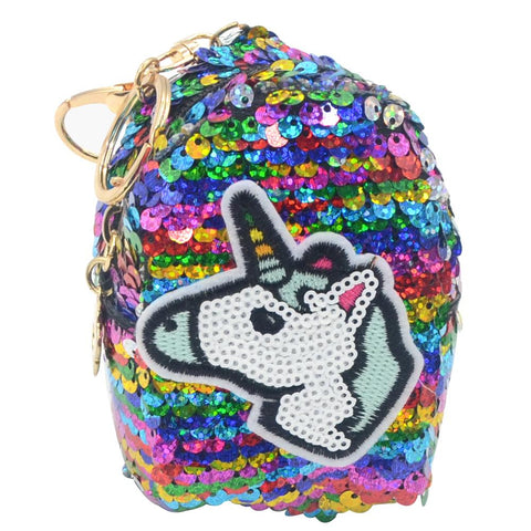 Unicorn Sequin Coin Bag - Pack of 12