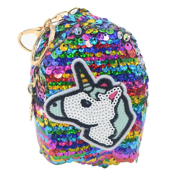 Unicorn Sequin Coin Bag - Pack of 12:Mila Lifestyle Accessories