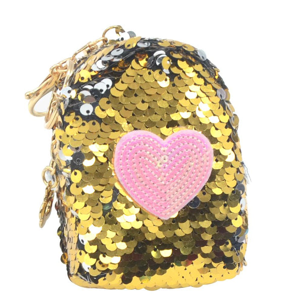 Heart Sequin Coin Bag - Pack of 12:Mila Lifestyle Accessories
