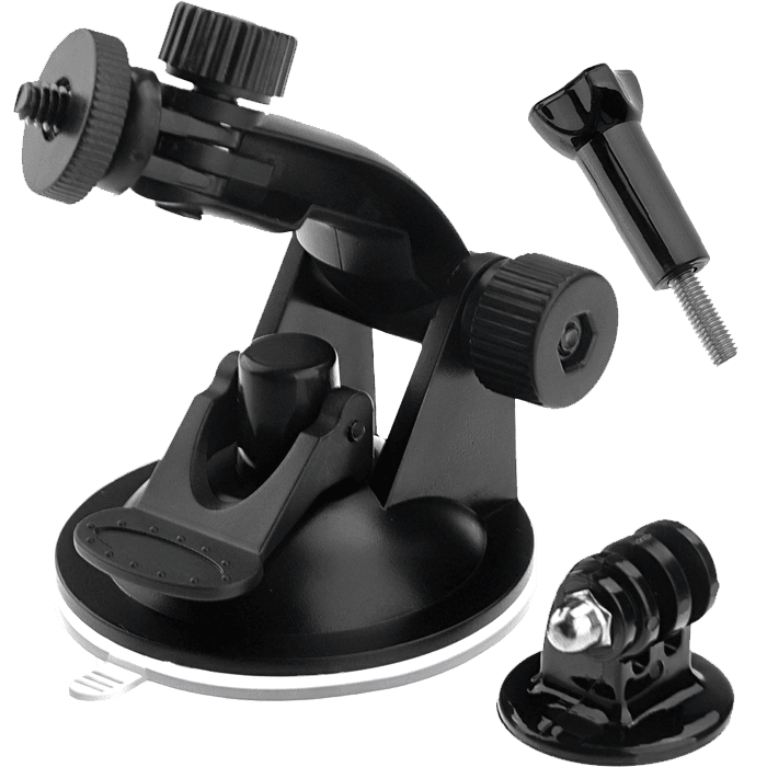 Action Camera/GoPro Suction Cup Mount Mila Lifestyle Accessories