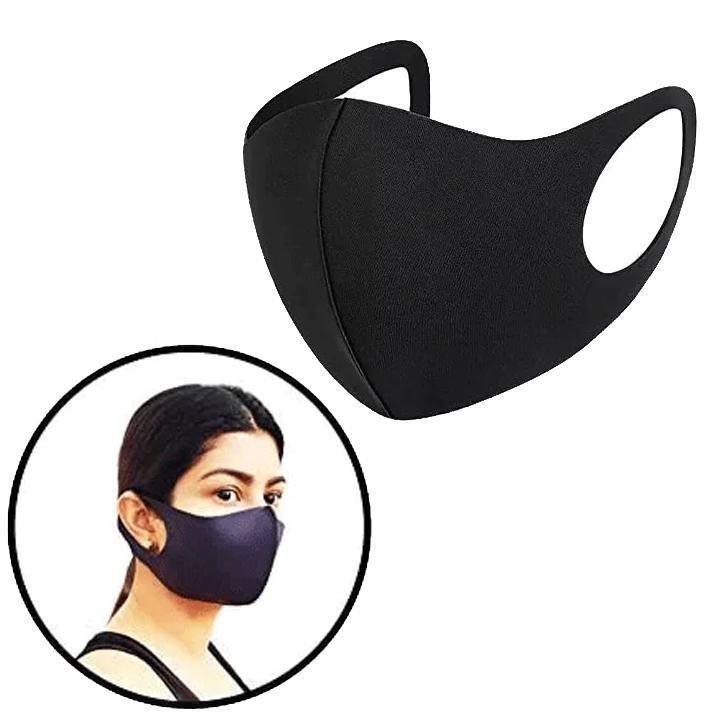 Black Fabric Mask - Pack of 48 Mila Lifestyle Accessories