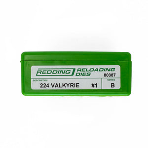 Redding Reloading Full Length 2 Die Set 224 Valkyrie