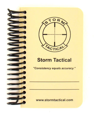 Storm Tactical Pocket Coil Bound Data Book