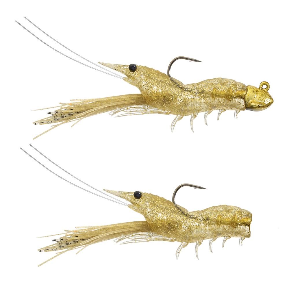 "Live Target Fleeing Shrimp 2 3/4"", 1/4oz Sand Shrimp"