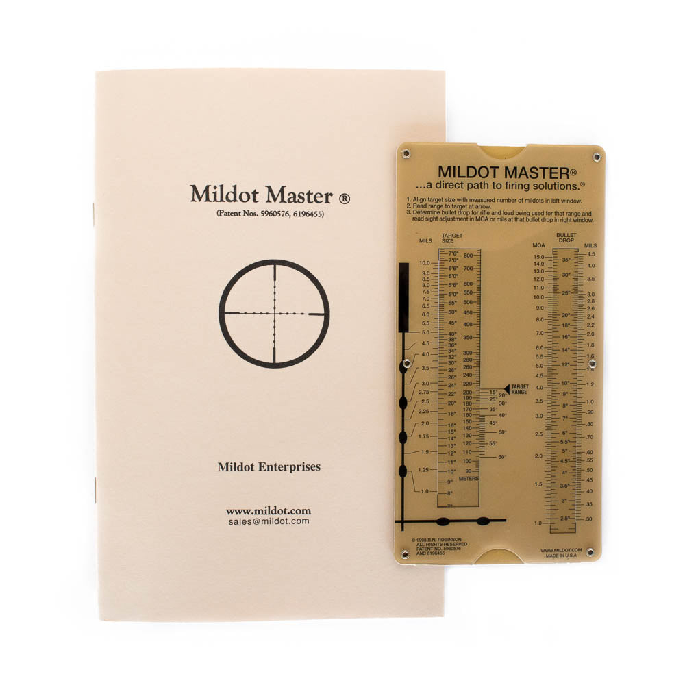 Mildot Master Ballistic Calculator