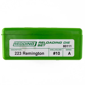 Redding Reloading Full Length 2 Die Set 223 Rem