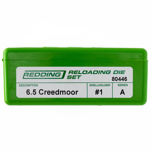 Redding Reloading Full Length 2 Die Set 6.5 Creedmoor
