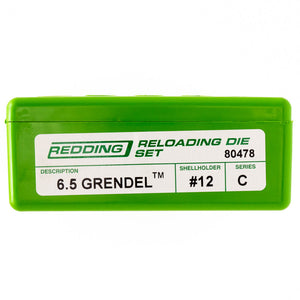 Redding Reloading Full Length 2 Die Set 6.5 Grendel