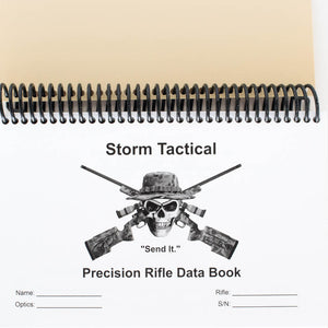 Storm Tactical Heavy Paper Coil Bound Data Book