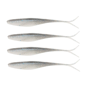 "Z-man Scented Jerk Shadz 7"" Length, Smokey Shad"