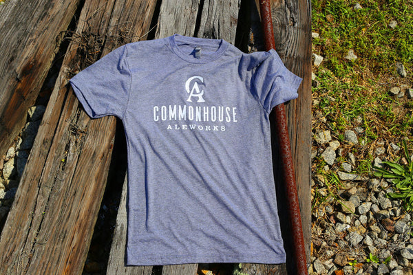 Heather Grey Logo Shirt