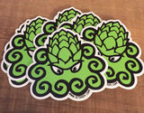 "3"" Octohops Logo Sticker"
