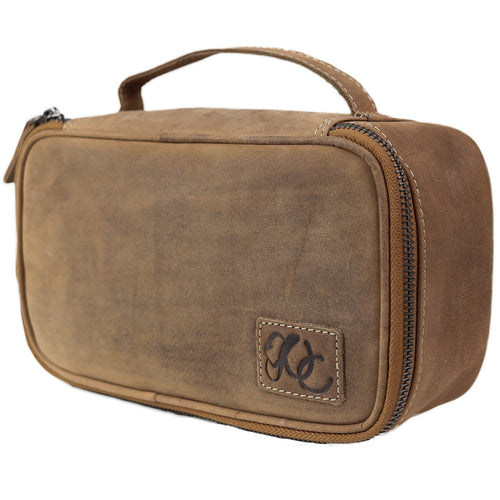 Leather Dopp/Toiletry Bag