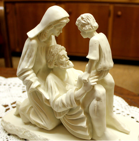 "Holy Family ""Prayer Sculpture"""
