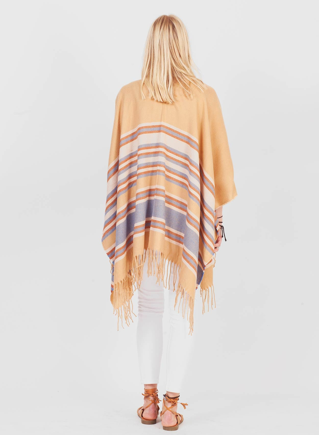 Super Soft Camel Blanket Cape - LoveClothing.com - 3