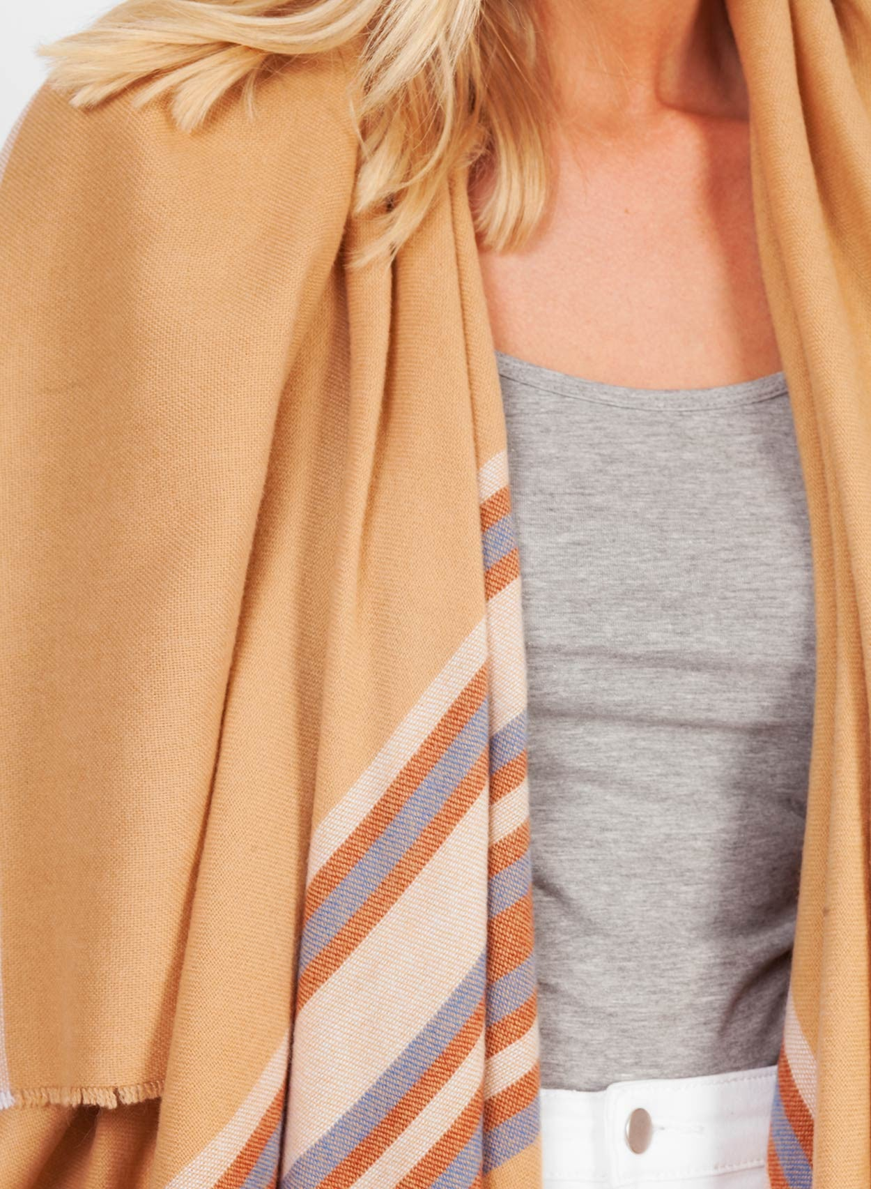 Super Soft Camel Blanket Cape - LoveClothing.com - 2