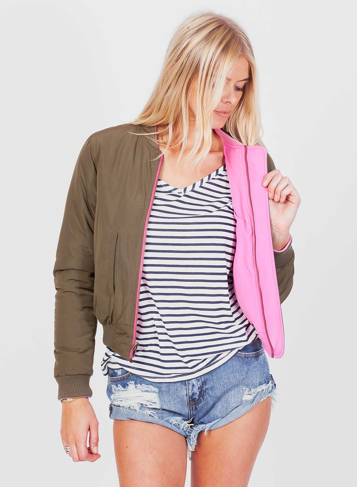 Love Reversible Bomber - LoveClothing.com - 6