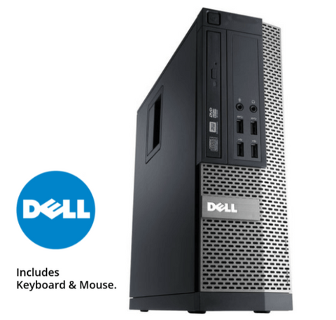 Dell Optiplex 990 SFF • Core i5 • Windows 10 Home 64 Bit • 250GB HDD • 4GB RAM • DVD